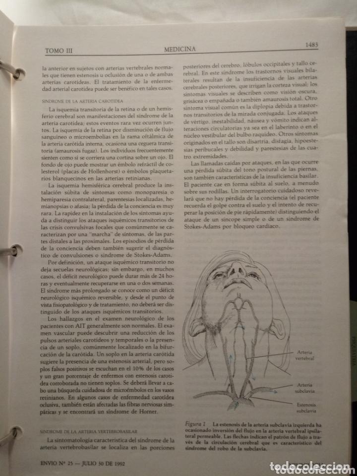 Libros de segunda mano: Libro SCIENTIFIC AMERICAN MEDICINA VOLUMEN 3 . ENDOCRINO, METABOLISMO,NEUROLOGIA,PSIQUIATRIA... - Foto 7 - 173813402
