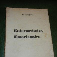 Libros de segunda mano: ENFERMEDADES EMOCIONALES, DE DR. VICTOR L. FERRANDIZ - 1958. Lote 173846115