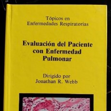 Libros de segunda mano: EVALUACION DEL PACIENTE CON ENFERMEDAD PULMONAR. - WEBB, JONATHAN R.. Lote 173707345