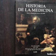 Libros de segunda mano: HISTORIA DE LA MEDICINA. JENNY SUTCLIFFE. Lote 174196717