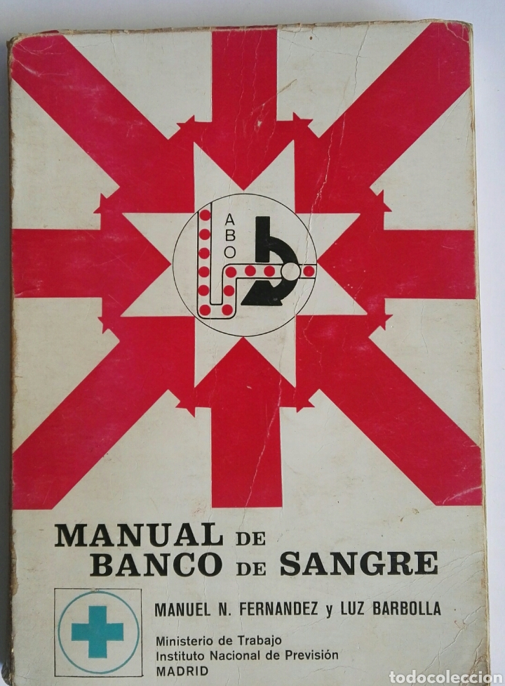 MANUAL DE BANCO DE SANGRE (Libros de Segunda Mano - Ciencias, Manuales y Oficios - Medicina, Farmacia y Salud)