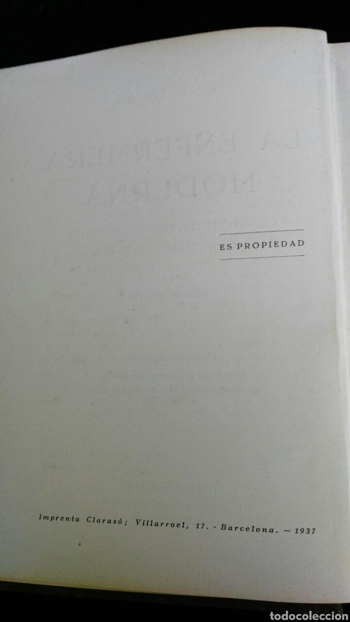 Libros de segunda mano: La enfermera moderna. Dr. B. Pijoan. Año 1937 - Foto 2 - 175087695