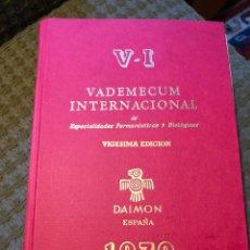 Libros de segunda mano: VADEMECUM INTERNACIONAL. Lote 175219690