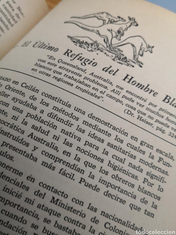 Libros de segunda mano: La odisea de un médico en 45 países V. Heiser edición numerada - Foto 5 - 175575144