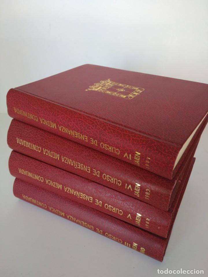 LIBROS CURSO DE ENSEÑANZA MÉDICA CONTINUADA, DIPUTACIÓN DE JAÉN (Libros de Segunda Mano - Ciencias, Manuales y Oficios - Medicina, Farmacia y Salud)