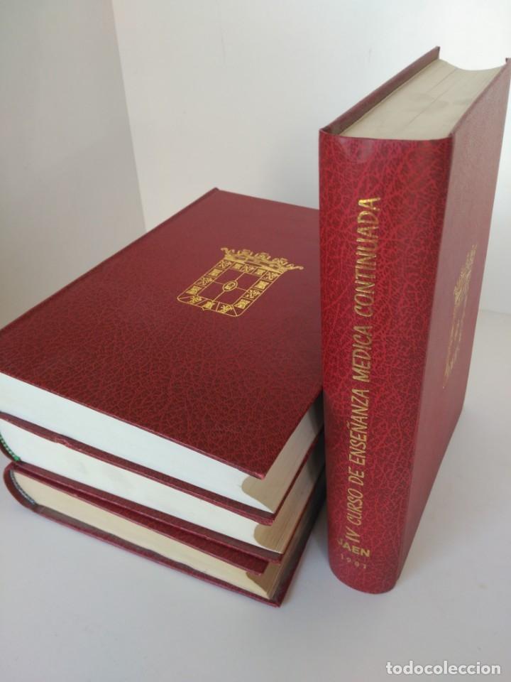 Libros de segunda mano: Libros curso de enseñanza médica continuada, diputación de jaén - Foto 2 - 175909247