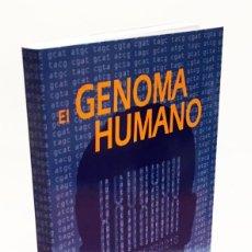 Libri di seconda mano: EL GENOMA HUMANO - LA MIRADA DE LA CIENCIA, EDITORIAL COMPLUTENSE - GENÓMICA, BIOLOGÍA, MEDICINA. Lote 176218245