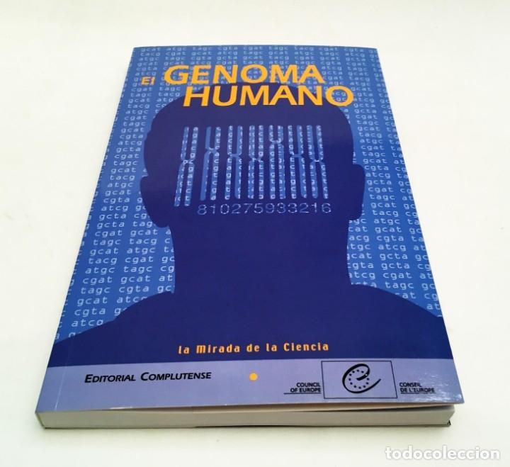 Libros de segunda mano: EL GENOMA HUMANO - LA MIRADA DE LA CIENCIA, EDITORIAL COMPLUTENSE - GENÓMICA, BIOLOGÍA, MEDICINA - Foto 2 - 176218245