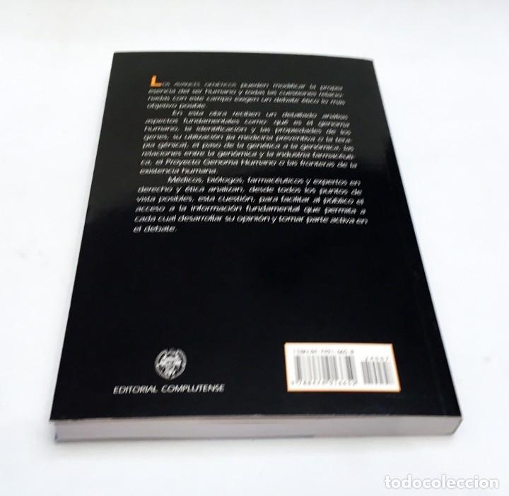 Libros de segunda mano: EL GENOMA HUMANO - LA MIRADA DE LA CIENCIA, EDITORIAL COMPLUTENSE - GENÓMICA, BIOLOGÍA, MEDICINA - Foto 5 - 176218245