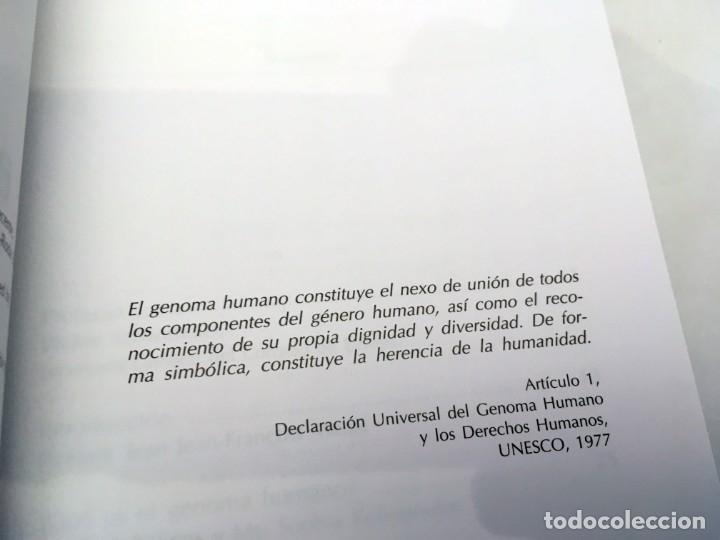 Libros de segunda mano: EL GENOMA HUMANO - LA MIRADA DE LA CIENCIA, EDITORIAL COMPLUTENSE - GENÓMICA, BIOLOGÍA, MEDICINA - Foto 7 - 176218245
