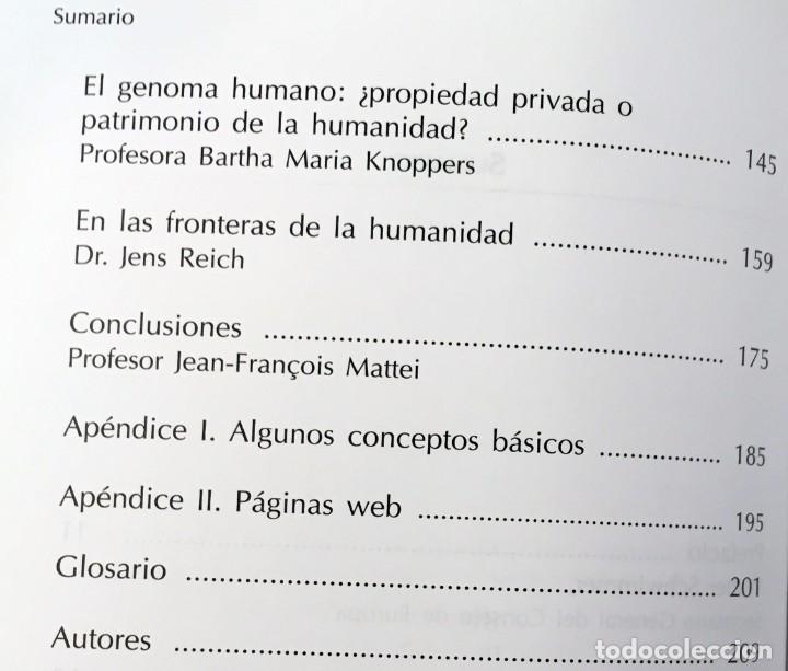 Libros de segunda mano: EL GENOMA HUMANO - LA MIRADA DE LA CIENCIA, EDITORIAL COMPLUTENSE - GENÓMICA, BIOLOGÍA, MEDICINA - Foto 9 - 176218245