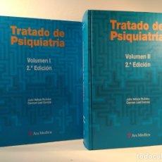 Libros de segunda mano: TRATADO DE PSIQUIATRÍA. VOLS I-II: OBRA COMPLETA. 2.ª EDICIÓN MEJORADA. ISBN 9788497514804.. Lote 176484635