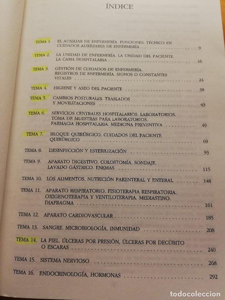Libros de segunda mano: MANUAL DEL TÉCNICO EN CUIDADOS AUXILIARES DE ENFERMERÍA (JOSÉ ÁNGEL PEÑA BAYO) - Foto 3 - 176648400