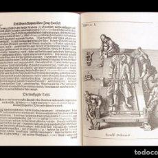 Libros de segunda mano: ¡RARO! FACSÍMIL ÍNTEGRO DEL MANUAL DE INSTRUMENTAL QUIRÚRGICO, DE JUAN ESCULTETO (S. XVII). Lote 176718238