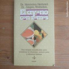 Libros de segunda mano: EL AYUNO CON ZUMOS GERHARD, HERMANN PUBLICADO POR EDAF (1995) 121PP. Lote 176779382