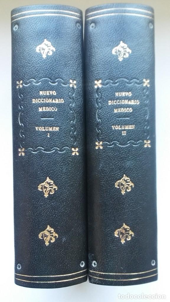 Libros de segunda mano: Nuevo diccionario médico (1987). Planeta Agostini. Medicina. Encuadernación artesanal. - Foto 2 - 176858507