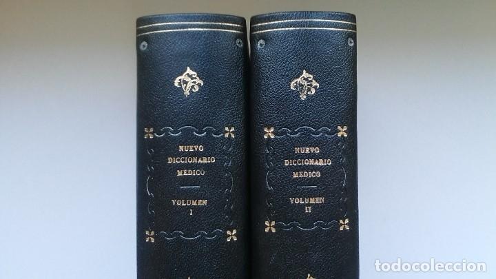 Libros de segunda mano: Nuevo diccionario médico (1987). Planeta Agostini. Medicina. Encuadernación artesanal. - Foto 3 - 176858507