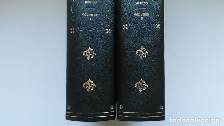 Libros de segunda mano: Nuevo diccionario médico (1987). Planeta Agostini. Medicina. Encuadernación artesanal. - Foto 4 - 176858507