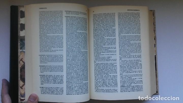 Libros de segunda mano: Nuevo diccionario médico (1987). Planeta Agostini. Medicina. Encuadernación artesanal. - Foto 9 - 176858507