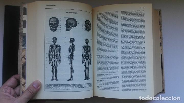 Libros de segunda mano: Nuevo diccionario médico (1987). Planeta Agostini. Medicina. Encuadernación artesanal. - Foto 10 - 176858507
