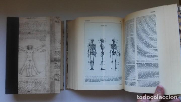 Libros de segunda mano: Nuevo diccionario médico (1987). Planeta Agostini. Medicina. Encuadernación artesanal. - Foto 11 - 176858507