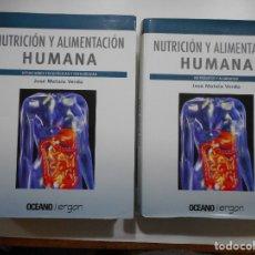 Libros de segunda mano: JOSÉ MATAIX VERDÚ NUTRICIÓN Y ALIMENTACIÓN HUMANA (2 TOMOS) Y96147. Lote 177380825