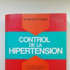 Libros de segunda mano: CONTROL DE LA HIPERTENSIÓN. Lote 177755560
