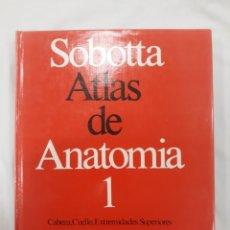Libros de segunda mano: SOBOTTA ATLAS DE ANATOMIA. Lote 177878902