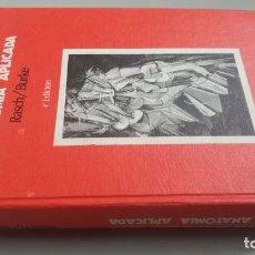 Libros de segunda mano: KINIOSOLOGIA Y ANATOMIA APLICADA - RASCH / BURKE - LA CIENCIA DEL MOVIMIENTO HUMANO/ CONSO 39. Lote 178035714