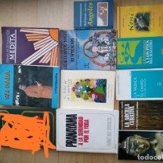 Libros de segunda mano: LOTE 11 LIBROS YOGA,NEW AGE,MEDITACIÓN,SALUD. Lote 177084399