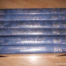 Libros de segunda mano: GRAN CONSULTOR MEDICINA GENERAL - 6 TOMOS + 4 DVDS - EDICION LIMITADA Y NUMERADA - NUEVO PRECINTADO. Lote 178726571