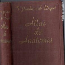 Libros de segunda mano: PAUCHET Y DUPRET : ATLAS DE ANATOMÍA (GILI, 1948). Lote 178794975