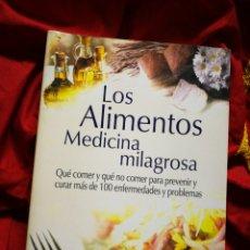 Libros de segunda mano: LOS ALIMENTOS MEDICINA MILAGROSA- JEAN CARPER, EDITORIAL AMAT.. Lote 178928668