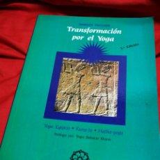Libros de segunda mano: TRANSFORMACIÓN POR EL YOGA- MARGOT PACCAUD (YOGA EGIPCIO, KUNG-FU, HATHA-YOGA)- MANDALA EDICIONES.. Lote 178929995