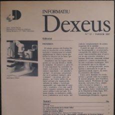Libros de segunda mano: REVISTA N°12 INFORMATIU DEXEUS. Lote 179137332