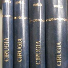 Libros de segunda mano: CIRUGIA. MORAZA ORTEGA. 4 TOMOS. SALAMANCA. SIMIL PIEL. FIRMA DEL AUTOR. Lote 179150825