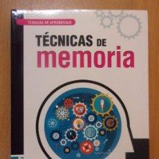 Libros de segunda mano: TÉCNICAS DE MEMORIA / SUSANA PAZ ENRIQUEZ / LIBSA. Lote 179952351