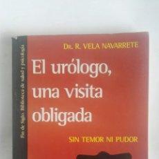 Libros de segunda mano: EL URÓLOGO, UNA VISITA OBLIGADA. Lote 180037161