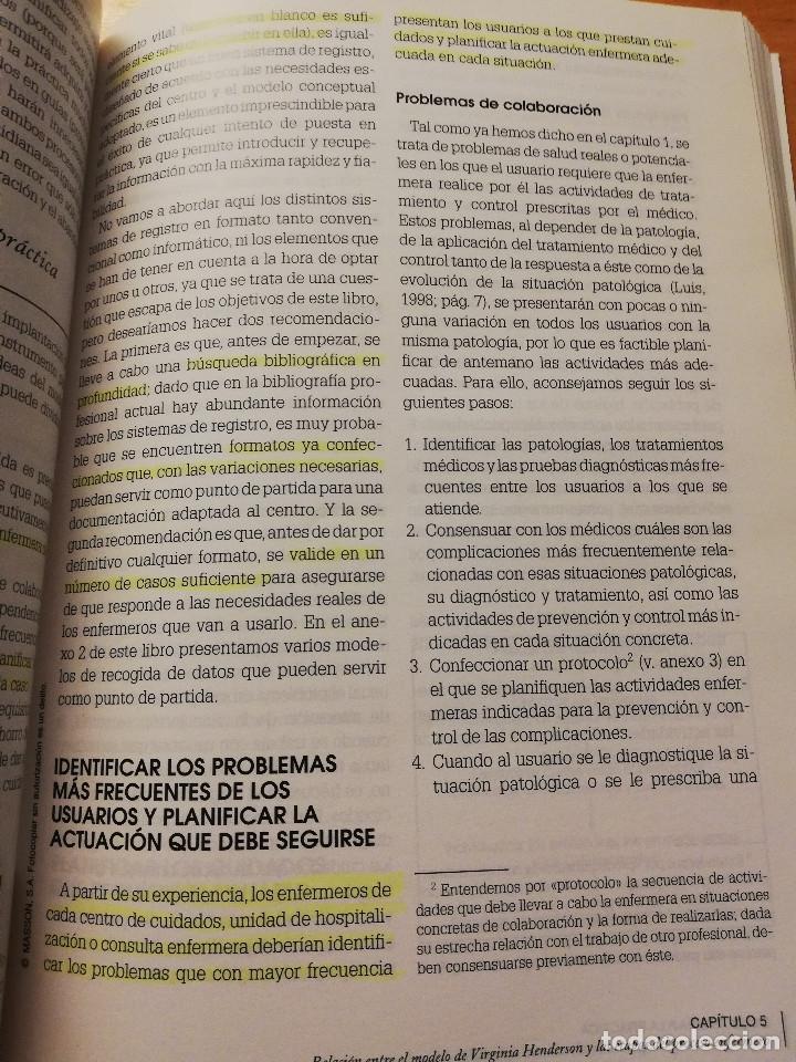 Libros de segunda mano: DE LA TEORÍA A LA PRÁCTICA. EL PENSAMIENTO DE VIRGINIA HENDERSON EN EL SIGLO XXI (VV. AA) 2ª EDICIÓN - Foto 3 - 180175337