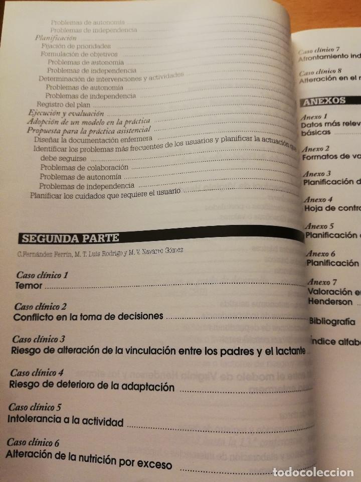 Libros de segunda mano: DE LA TEORÍA A LA PRÁCTICA. EL PENSAMIENTO DE VIRGINIA HENDERSON EN EL SIGLO XXI (VV. AA) 2ª EDICIÓN - Foto 7 - 180175337