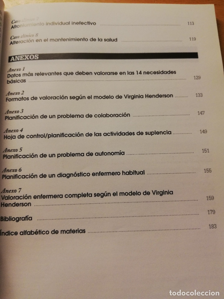 Libros de segunda mano: DE LA TEORÍA A LA PRÁCTICA. EL PENSAMIENTO DE VIRGINIA HENDERSON EN EL SIGLO XXI (VV. AA) 2ª EDICIÓN - Foto 8 - 180175337