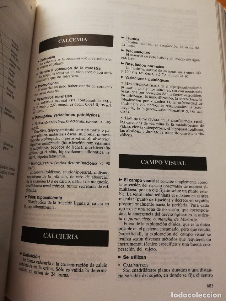 Libros de segunda mano: DICCIONARIO DE ENFERMERÍA (JACQUES QUEVAUVILLIERS / LÉON PERLEMUTER) TOMO II - Foto 7 - 180175503