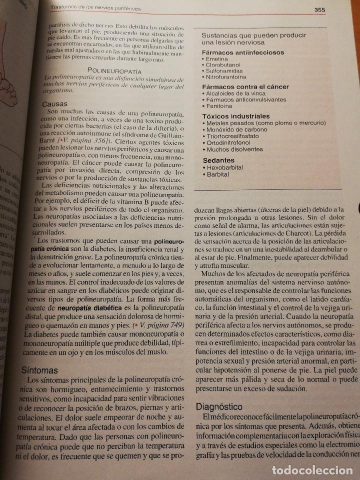 Libros de segunda mano: MANUAL MERCK DE INFORMACIÓN MÉDICA GENERAL (OCEANO) - Foto 10 - 180188896
