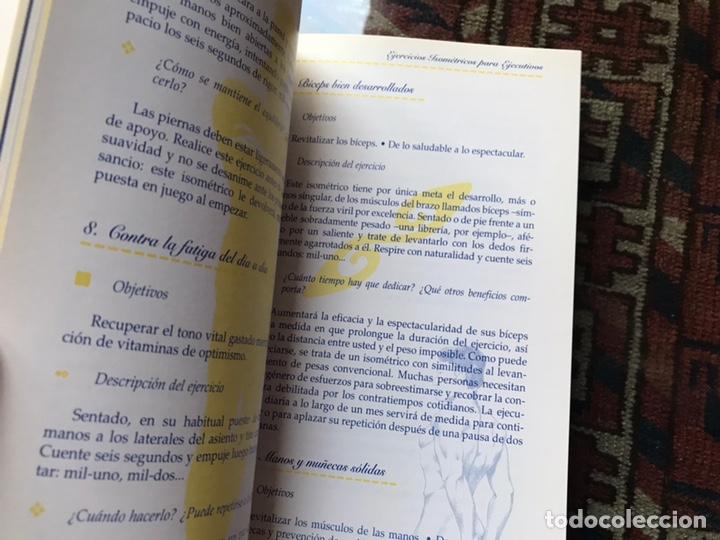 Libros de segunda mano: Estar en forma sin esfuerzo. Ejercicios isométricos. Como nuevo - Foto 5 - 180245397