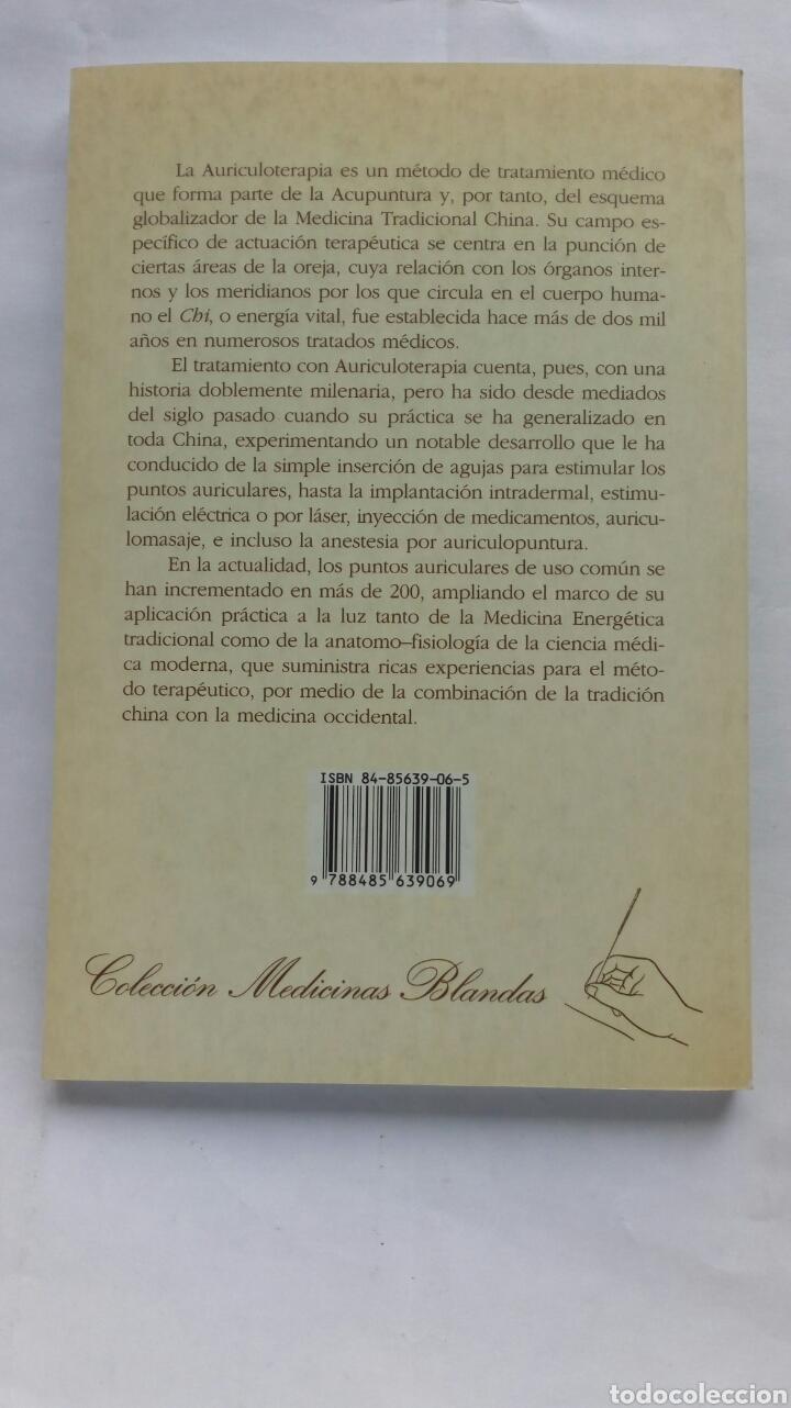 Libros de segunda mano: Auriculoterapia Práctica. Dr. Carlos Rubio Sáez (traducción). - Foto 2 - 180255251
