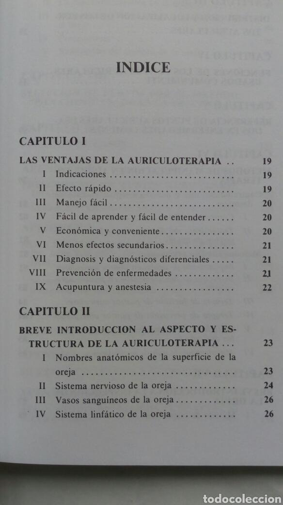 Libros de segunda mano: Auriculoterapia Práctica. Dr. Carlos Rubio Sáez (traducción). - Foto 3 - 180255251