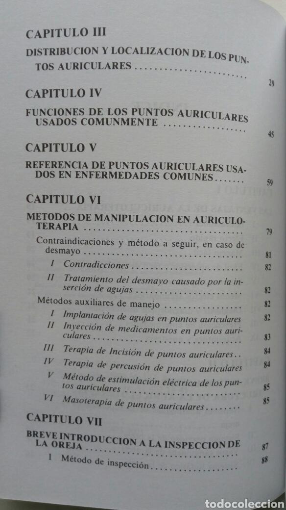 Libros de segunda mano: Auriculoterapia Práctica. Dr. Carlos Rubio Sáez (traducción). - Foto 4 - 180255251