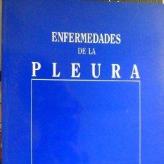 Libros de segunda mano: ENFERMEDADES DE LA PLEURA. A. J. S. MARTÍNEZ-BERGANZA ASENSIO. Lote 180314852