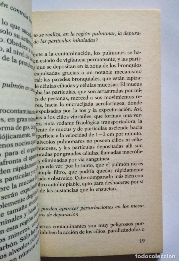 Libros de segunda mano: EL AIRE QUE RESPIRAMOS | DI MENZA, LAURENCE | PLAZA & JANÉS 1988 - Foto 4 - 180318252