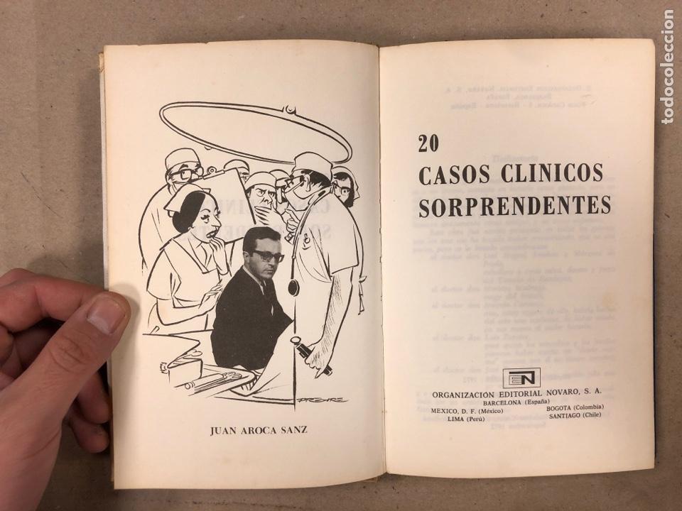 Libros de segunda mano: 20 CASOS CLÍNICOS SORPRENDENTES. EDITORIAL NOVARO 1972. 219 PÁGINAS. TAPA DURA. - Foto 2 - 180329031